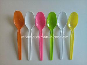 PS Plastic Yogurt Spoon, Dessert Spoon pictures & photos