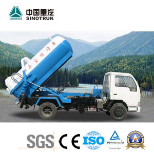 Best Price HOWO King Faecal Suction Truck of 10-12m3 Tank