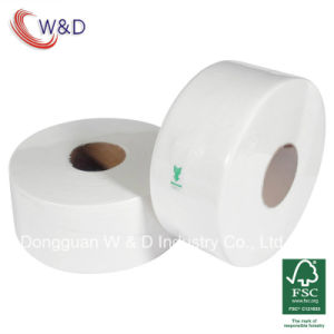 300m 2ply Jumbo Roll Toilet Paper for Airport and Hotel (WD003-JRT300) pictures & photos
