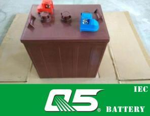 6V175AH (WPST-605) , Deep Cycle Golf Cart Battery pictures & photos