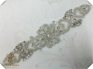Hand-Beaded Wedding Dress Rhinestone Belts, DIY Accessories pictures & photos