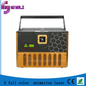 5W Full Color Animation Laser Light for Disco (HL-087)