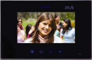 7 Inch Hands Free 4 Wires or 2 Wires Color Video Door Phone pictures & photos