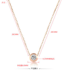 Stainless Steel Jewelry Fashion Pendant Necklace (hdx1022) pictures & photos