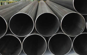 ERW Pipe Round Welded Carbon Steel Pipe pictures & photos