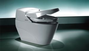New Design Foot Touch Intelligent Toilet pictures & photos