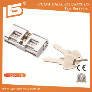 Double Open Brass Lock Cylinder (TOPS-16) pictures & photos
