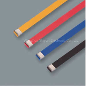 O Lock Type Plastic Covered Stainless Steel Cable Ties 12X450mm pictures & photos