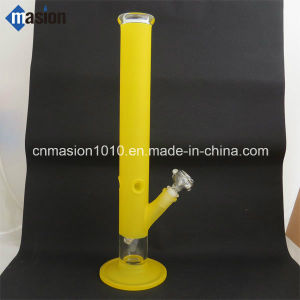 Colored Glass Water Pipe Smoking Pipe with Dome (N1) pictures & photos
