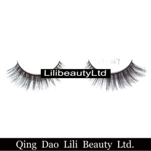 Lili Beauty Own Brand Decorative 3D Mink Fur Natural False Eyelash with 5mm to 15mm Length Private Label Strip Eyelash pictures & photos