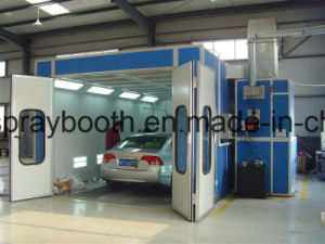 Ce Standard High Quality Captain Cheap Paint Booth pictures & photos