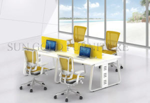 Modern Standard Size of 4 Seaters Office Workstations Modular (SZ-WS610) pictures & photos