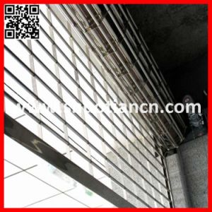 High Effciency Commercial Rolling Grille Door (ST-003) pictures & photos