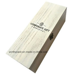 Promotion/Advertising/Gift Wooden Packaging/Storage Box with Hinged Lid