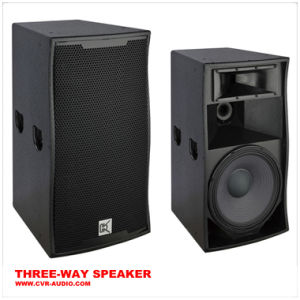 Three Way Club Speaker System DJ Audio Speaker 15 Inch pictures & photos