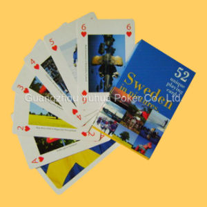 Full Color Advertising Playing Cards Poker with Customer Design pictures & photos