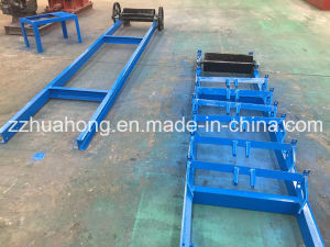 Huahong Double Shaft Tire Car Shell Shredder Recycling Machine pictures & photos