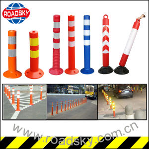 Reflective Road Construction Flexible Elastic Traffic Warning Post pictures & photos