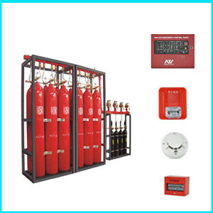 FM200 Automatic Fire Extinguisher System pictures & photos