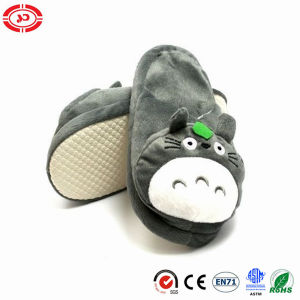 Totora Plush Anti-Slip Soft Warm Family Shoe Stuffed Slippers pictures & photos