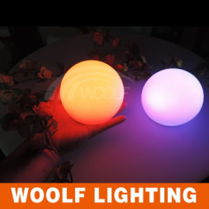 LED Color Changing Plastic Half Round Magic Balls pictures & photos