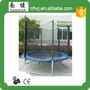 Quality Big Trampoline with Enclosure for Kids on Sale pictures & photos