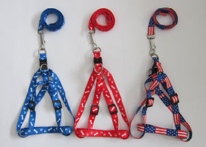 Pet Dogs and Cats Nylon Tow Rope Chain Collar with Harnesses pictures & photos
