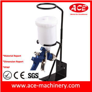Gravity Feed Spray Gun Stand Sheet Metal Fabrication Part (SM109) pictures & photos