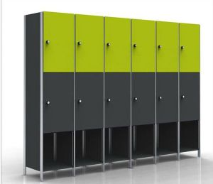 3 Door Waterproof Lockers for Changing Room pictures & photos