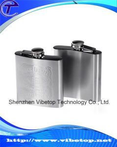 Hot Selling Good Quality Pop Stainless Steel Flagon pictures & photos