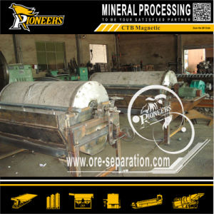 Strong Intensity Rare Earth NdFeB Mining Permanent Drum Magnet Separator pictures & photos