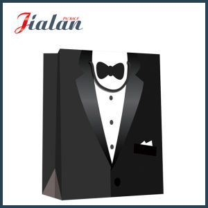 Custom Made M′s Suit Packaging Retail Shopping Gift Paper Bags pictures & photos