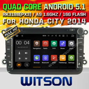 Witson Android 5.1 Car GPS for VW B6 (A5308) pictures & photos