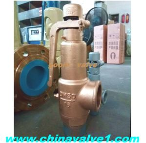 Brass /Stainless Steel Threaded Pressure Safety Relief Valve (A27H/A27Y) pictures & photos