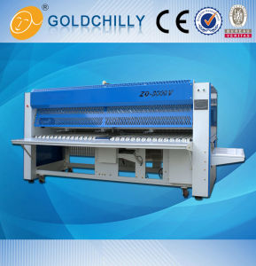 Laundry Cleaning Equipments Hotel Bed Sheet Folding Machine pictures & photos
