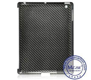 High Luxury 100% Real Carbon Fiber Back Case for iPad 2 3 4 pictures & photos