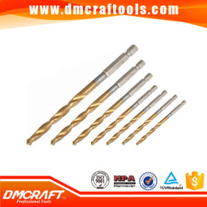 HSS 1/4 Hex Shank Twist Drill Bits Fully Ground pictures & photos