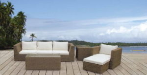 Modern Wicker Garden Outdoor Sofa Set pictures & photos