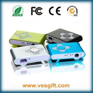 8GB Plum Clip MP3 Player with Screen pictures & photos