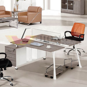 Metal Wood Office Workstation Desk Sale (HY-NNH-Z20) pictures & photos