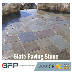 Flamed Natural Slate/Granite/Basalt Paving Stone for Garden / Landscape Project pictures & photos
