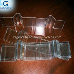 100% Virgin Material Blue T Shape Corrugated Polycarbonate Sheet pictures & photos