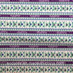 100%Cotton Reactive Printed Cotton Flannel for Pajamas