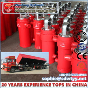 Multi Stage Side-Dumping Hydraulic Cylinder for Dump Truck pictures & photos