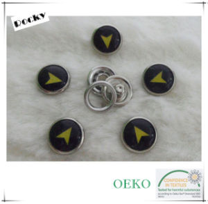 High Quality Prong Button Pearl Snap Button for Jeans pictures & photos