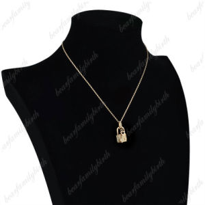 New Design Locket and Key Pendant Gold Plated Jewelry Necklace pictures & photos