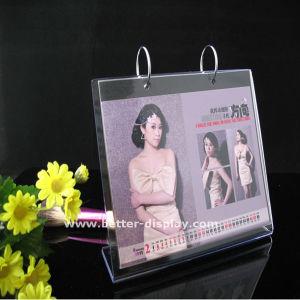 Wholesale Plastic Acrylic Desktop Calendar Stand pictures & photos