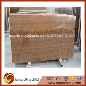 Gold Wood Grainy Yellow Marble Big Slab pictures & photos