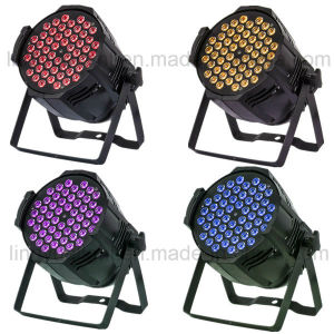 Stage Lighting Cheaper 54X3w RGB 3in1 LED PAR Can Light pictures & photos