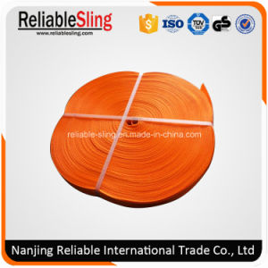Heavy Duty Polyester Flat Color Code Sling Belt pictures & photos